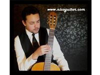 Guitarist (instrumental) available for weddings, functions, private parties etc..