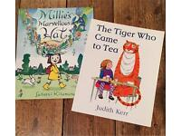 Millie's Marvellous Hat and The Tiger Who Came to Tea books
