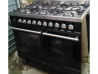 Britannia Range Cooker SI-10T6-SLX-K Black Gloss OPEN TO OFFERS