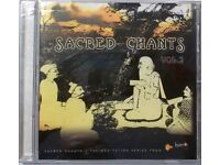 4 Cds of Chants for meditations. Various artists.