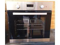 Lamona LAM3404-1 Fan Assisted Single Electric Built In Oven In Stainless Steel