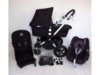 😍 Bugaboo Cameleon 3 Complete Package 😍 inc Maxi Cosi Pebble Car seat and Adpaters