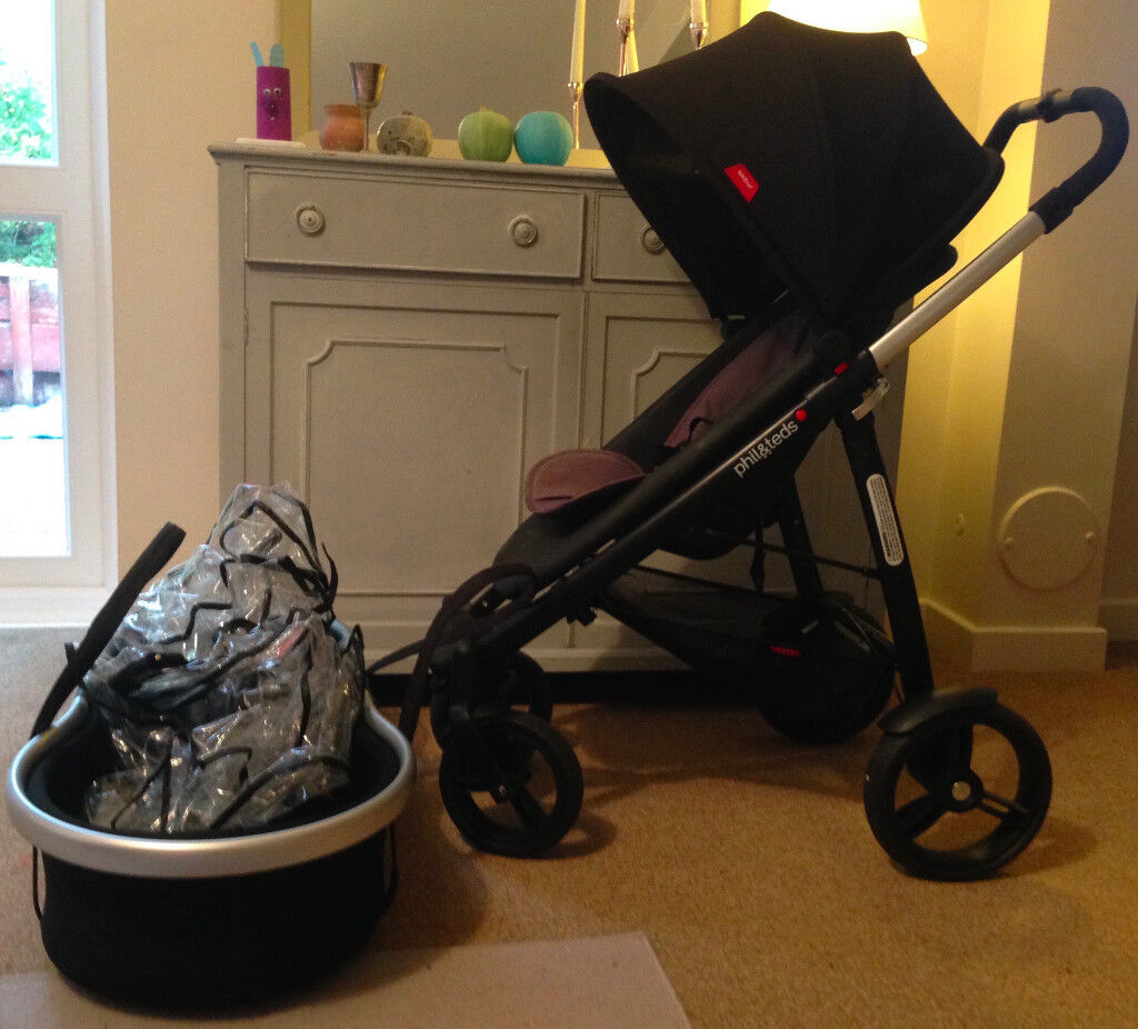 Phil And Ted Smart V2 Pushchair With Bassinet And All Covers Excellent Condition And New Wheels In Southfields London Gumtree