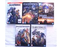 Transformers FIVE Films (DVDs)