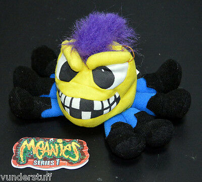 Meanies Otis the Octapunk Octopus - Series 1 1997, Idea Factory, Early Meanie