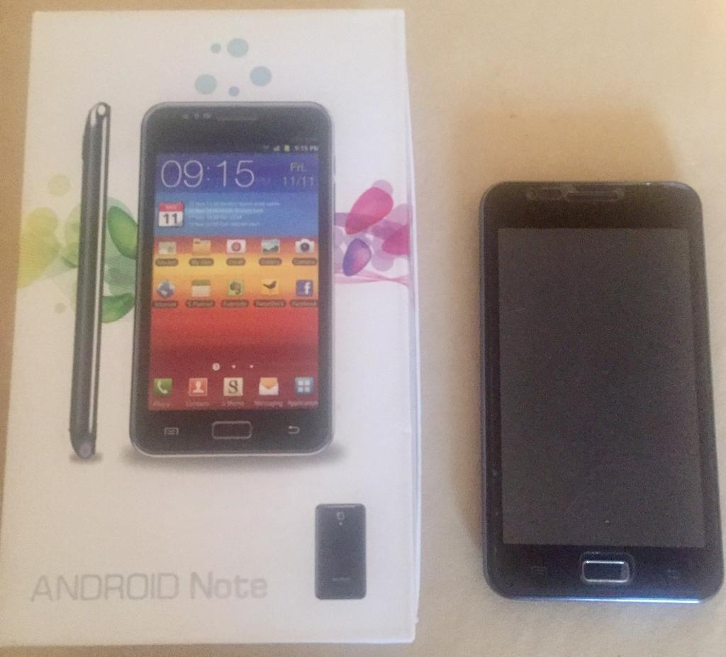 Mobile phonein Milton Keynes, BuckinghamshireGumtree - Android note unlocked all working comes boxed with charger and many accessories screen protectors spare battery and a caseAny questions please askThank you