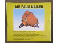 Air palm nailer