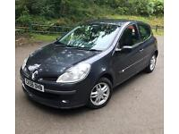 Renault Clio 1.5 Dci diesel new m.o.t only 30 road tax!