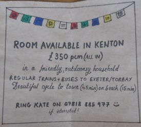 Friendly, outdoorsy houseshare near Exeter