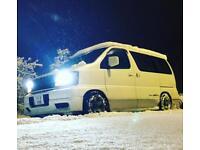 Nissan Elgrand E50 Camper 3.3 V6 Petrol