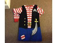 Pirate onsie age 6-7