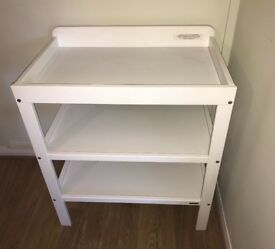 John Lewis baby changing table / unit