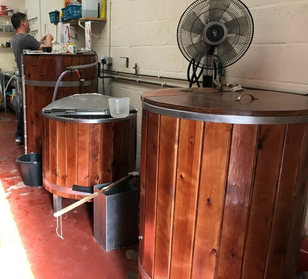 Complete Brewery For Sale, Lock Stock And