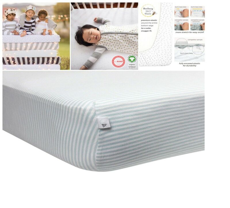 Standard Bed Baby Crib Sheet Organic Memory Foam Mattress In