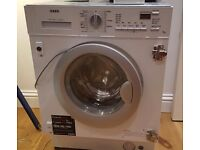 Two years old washer dryer complete with external door to go in a fitted kitchen. Collection only
