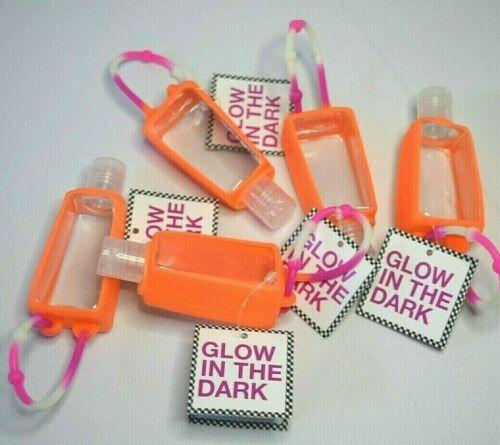 Lot of 5 Bath & Body Works 1oz EMPTY Bottle Hands Sanitizer Holder Glow in Dark