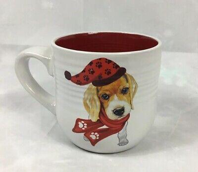 """Have Paws Mugs - New """"My Kids Have Paws"""" Christmas Mug Dog Lovers Gift Mug Cup White/Red"""