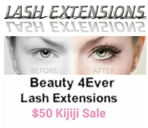 Master certified/Licensed Eyelash extension tech. Special $50 Sarnia Sarnia Area image 1