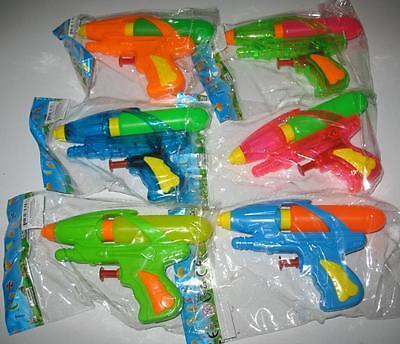 2 TANK WATER SQUIRT GUNS 5 INCH squirting toy gun