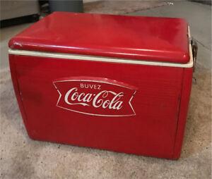 Coca-Cola Vintage Cooler!