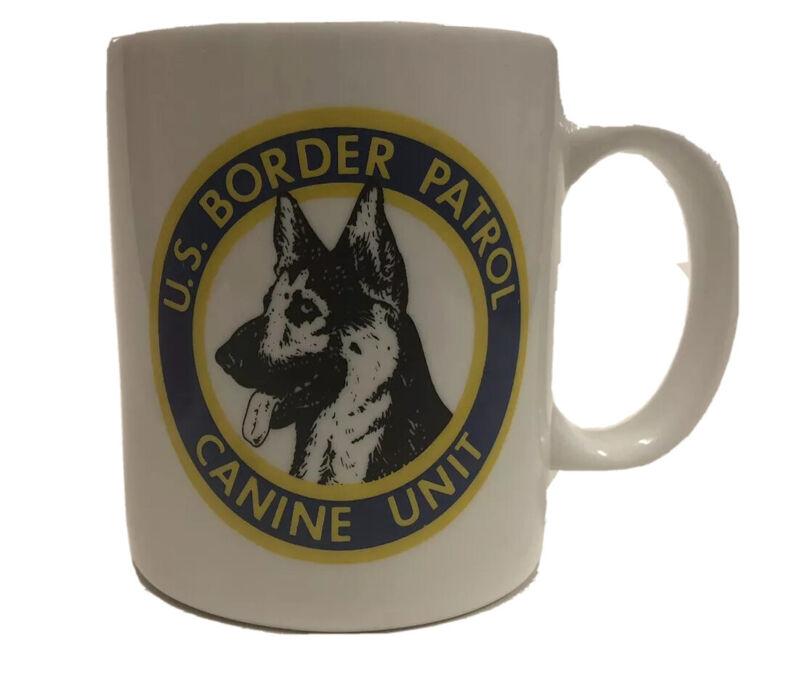 U.S. Border Patrol Canine K9 Unit Coffee Mug   8 oz