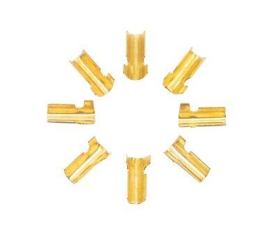 10 Conector A Crimp Para Cable Eléctrico De 0.2A 0.75mm2 Unión Enganche...