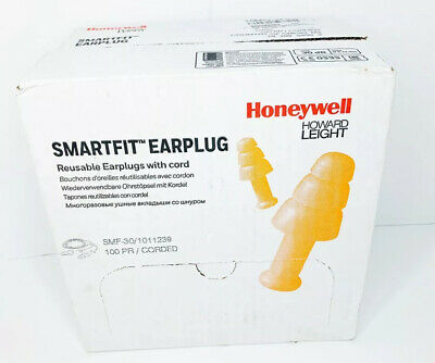 Honeywell Howard Leight Smartfit Ear Plugs - 301011239 100 Count With Cord