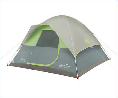 Coleman Namakan Fast Pitch Dome Tent 5 Person Minute Setup Green New