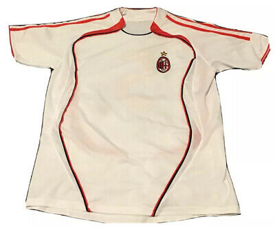 AC MILAN # 5 FOOTBALL AWAY JERSEY SHIRT Size LARGE