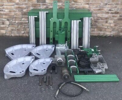 Greenlee 881 Hydraulic Pipe Bender 2-12-4 Rigid Imc Emt 960 Pump 1813 Table