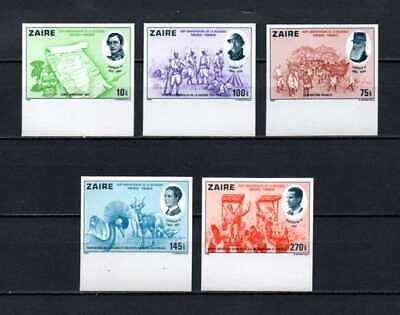 Belgisch Congo Belge - Rep du Zaïre n° 1066/70 ND MNH 5 Kings 150th Ann c14.00Eu