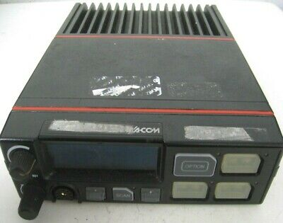 Macom D28mtx 2-way Police Radio Ge Ma-com Orion Control Head Uhf