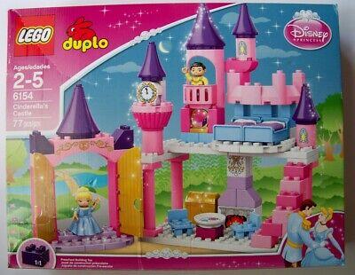 DAMAGED BOX Lego duplo 6154 Cinderella Castle NEW Disney princess prince