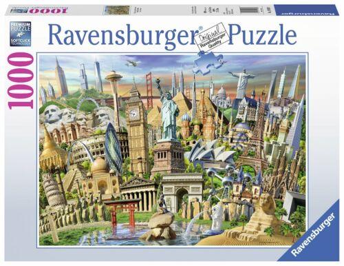 World Landmarks 1000 Piece Puzzle