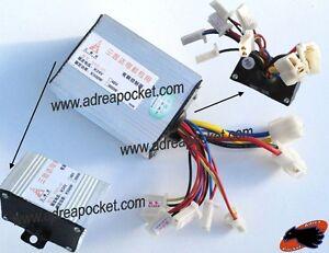 Controleur de tension 24 volts 500 watts trottinette for Controleur de tension electrique