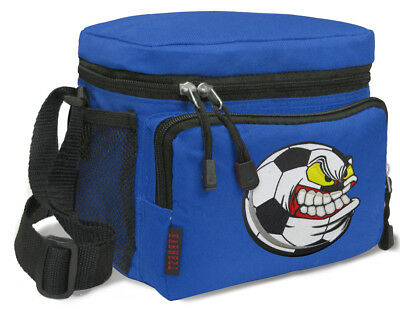 Soccer Lunchbox Cooler Bags Insulated Bag Lunchboxes BEST