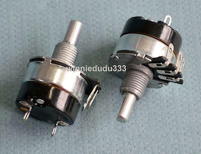 New 2pcs Potentiometer With Switch 10k Ohm Wh134-2