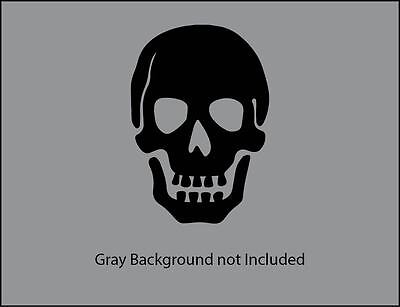Skull pirate vinyl decal sticker for wall, car, laptop, phone, tablet,  etc (Pirate Stickers)