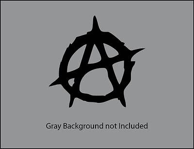 Anarchy V1 Vinyl Decal Sticker For Wall  Car  Laptop  Etc