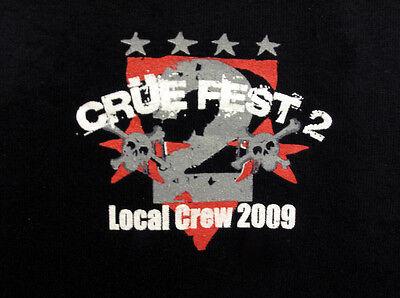 Motley Crue Fest 2 Local Crew T-shirt Unique Christmas Gift idea