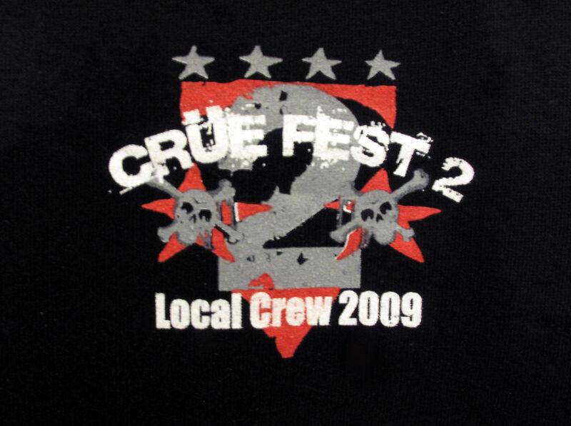 Motley Crue Fest 2 Local Crew T-shirt Unique Gift idea
