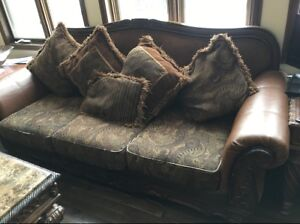 2 Couches from Ashleys furniture for $500