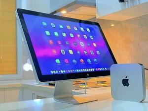 27-Inch Apple LED Cinema Display Mac Mini Intel 2.4GHz-320GB-High