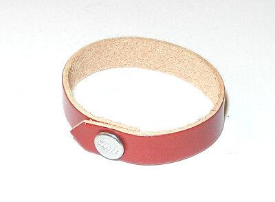 Original Steiff Zubehör kleines rotes Halsband mit Steiffknopf