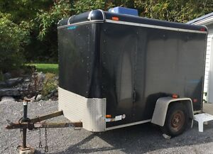 HAULMARK ENCLOSED TRAILER
