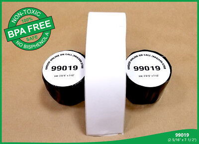 99019 Dymo Compatible Twin Turbo Labels 150 Per Roll - 30 Rolls