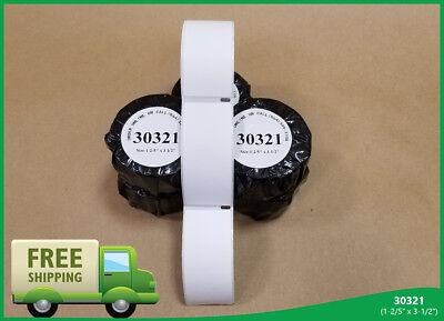 30 Rolls Lg Address Labels 30321 400 450 Twin Turbo Dymor Labelwriterr