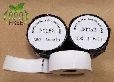 White Paper Custom Labeling Postage Usps Ebay 30252 Dymo 4xl Compatible 2 Rolls