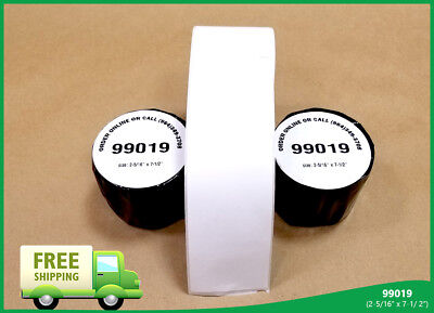 4 Rolls 4xldymo Compatible Thermal Print 450 Duo 99019 Twin Turbo Labels