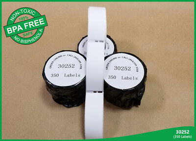 Dymo Compatible 2 Rolls Labels 30252 Labelwriter 4xl Duo 400 Twin Turbo White
